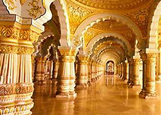 Mysore Palace or the Maharajah's Palace
