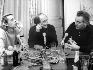 Jacques Brel, Léo Ferré et Georges Brassens