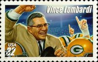 Vince Lombardi on a happier occasion.