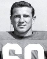 Chuck Bednarik: He could tackle you really hard five times before you hit the ground.