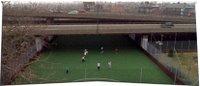 Campo de futebol em Londres