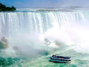 Niagara Falls in Niagara Parks of Canada