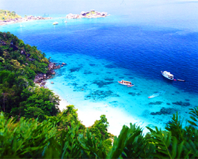 Similan Islands National Parks in Phang Nga of Thailand