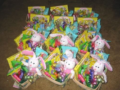 Soldiers angels germany angel sends over 70 easter baskets and angel sends over 70 easter baskets and peep war kits to deployed soldiers negle Choice Image
