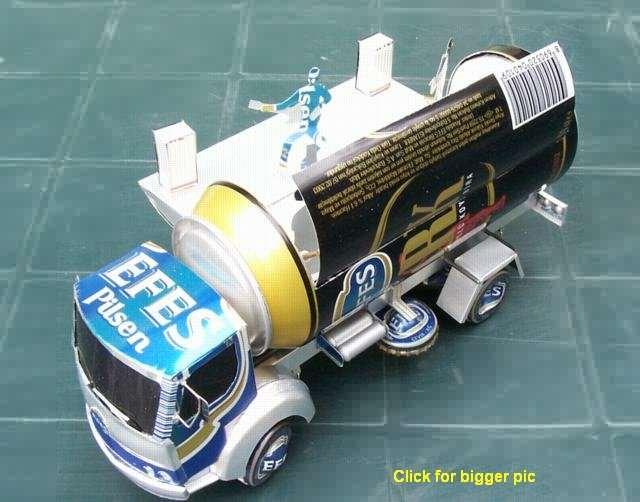 Авто из подручных материалов