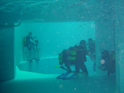 World Deepest Swimming Pool