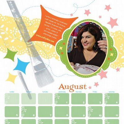 Diary of a Crafty Chica: Starlets of Craft 2007 Calendar :  crafty calendar 2007 crafting