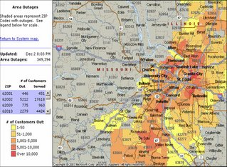 Ameren Illinois Outage image information
