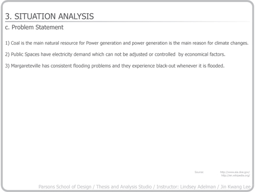 situation analysis and problem statement interclean