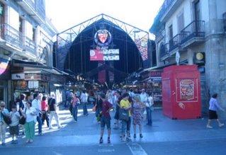 Mercat Boqueria Ramblas Barcelona