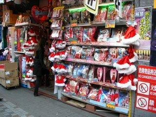 Febrile festive shopping