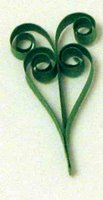 quilling heart t-scroll