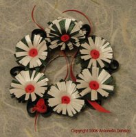free quilling pattern advent wreath