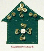 free quilled birdhouse pattern quilling