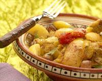 Recettes du Maroc : Tajine de Poulet aux Citrons Confits et Olives