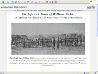William Webb site screen shot