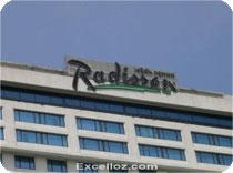 Radisson Hotel Bangkok original Photography with Excelloz.com