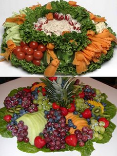 Vegetable and Fruit Party