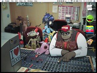 desktop:gorillaz