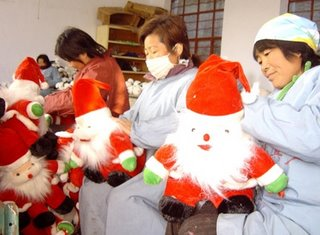 Santa Claus toys of China