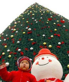 Tree Christmas in Beijing