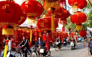 Residents Red in Market Fuzhou
