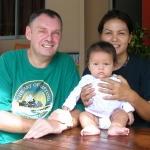 Steve, Lek and Gina