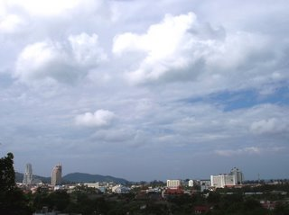 View over Patong, 16th December 2006