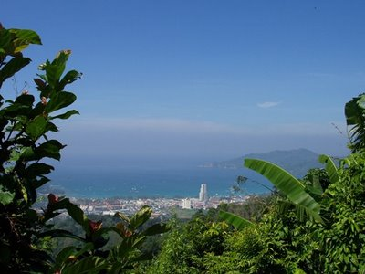 View over Patong from Radar Hill, 25th December 2006