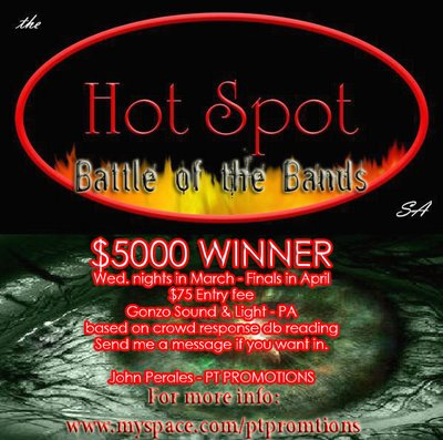 Battle of the Bands at The Hot Spot San Antonio