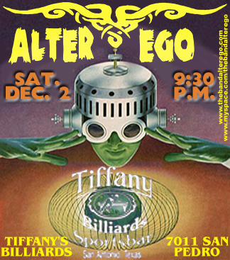 Alter Ego at Tiffany Billiards Live