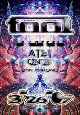 Tool in San Antonio March 26th