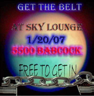 GTB at Sky Lounge Saturday