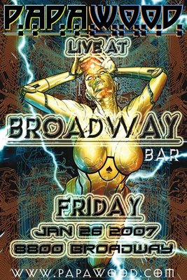 Papa Wood at Broadway Bar San Antonio