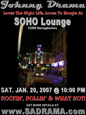 Johnny Drama at Soho Lounge