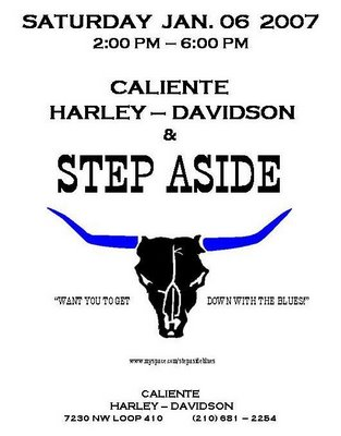 Blues with Step Aside at Caliente Harley Davidson