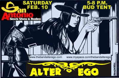 Alter Ego at the San Antonio Stock Show and Rodeo Saturday