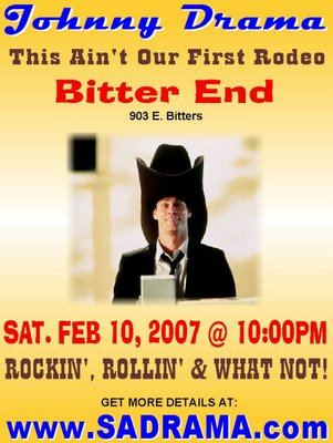 Band Johnny Drama plays at The Bitter End tonight