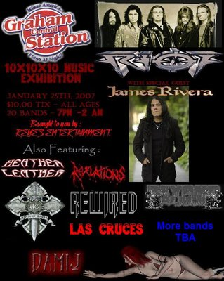 20 bands at Graham Central Station January 25th