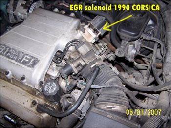 Check Engine Light Codes Code 32 on 1990 Corsica with 3