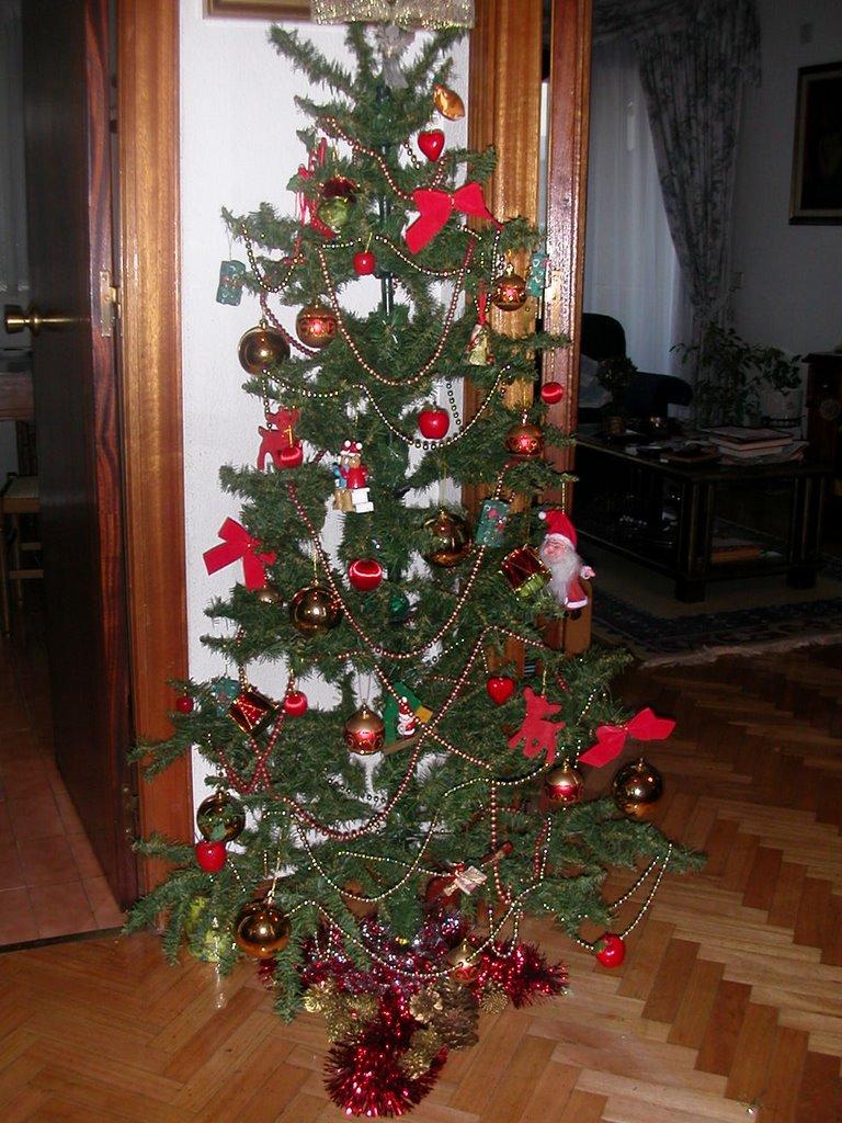 Diciembre 2006 el blog de monterito - Arbol de navidad dorado ...