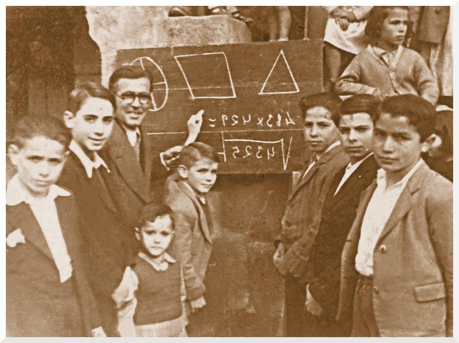 Resultado de imagen de Los maestros de la posguerra