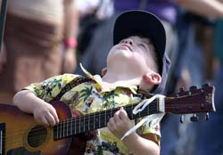 kids who play guitar