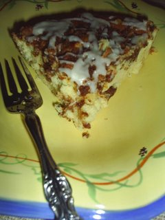Orange Pecan Breakfast Cake