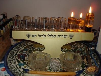 Second night of Hanukkah, 5767