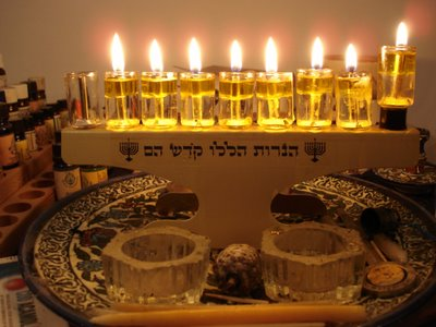 Seventh night of Hanukkah, 5767