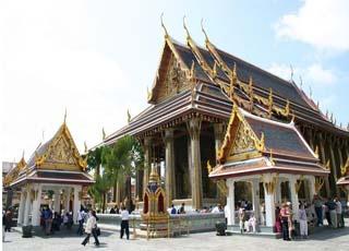 Inside Wat Phra Kaew Bangkok, Thailand