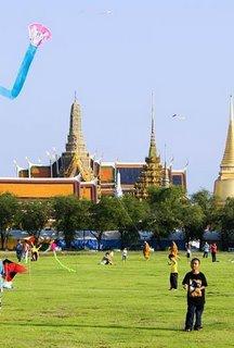 Sanam Luang in Bangkok