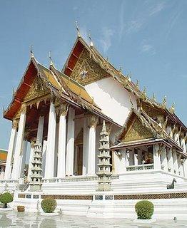 Wat Suthat Thepwararam Bangkok, Thailand
