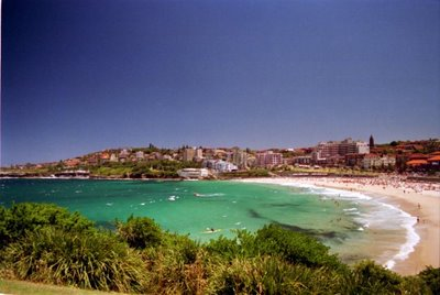 Coogee Beach, Sydney, Dec. 1999